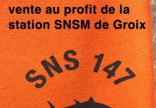 Demain samedi, à la halle, vente au profit de la SNSM de Groix