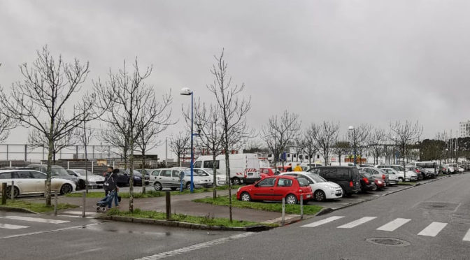 L'indispensable parking gratuit de la gare maritime